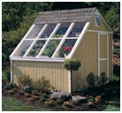 Solar Shed, Potting Shed or Hobby Greenhouse