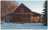 Small, Expandable, All-Purpose Pole Barn Plans