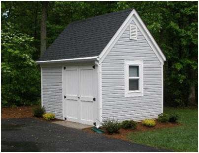 10'x12' Garden Tool and Lawn Tractor Storage Shed Plans