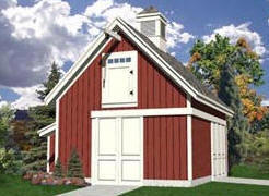 Mini Pole-Barn Plans