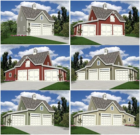 Detached Garages and Backyard Barns