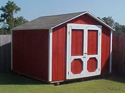 10' Wide Backyard Organizer Shed Plans - Photo by Rick Grant