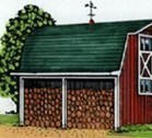 Mini Barn and Woodshed