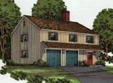 Car Barn with Upstairs Studio Apartment
