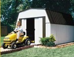 Steel Gambrel Roof Shed
