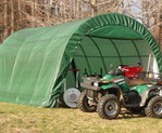 Fabric Tent Storage Shed