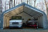 Fabric Tent Vehicle Shelter