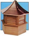 Copper Topped Wooden Cupola