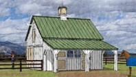 Small Horse Pole-Barn Plans