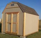 Dutch Roof Storage Shed