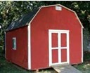 Barn Style Shed with Storage Loft