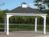 Hip Roof Carports for One, Two or Three Cars