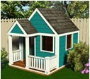 Playhouse Plans. Free Building Plans - YouTube