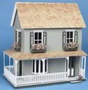 Farmhouse Style Dollhouse Kit