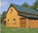 Wooden Pole Barn