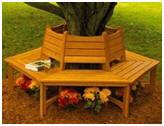Do It Yourself Tree Bench Plans