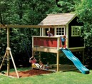 Play Fort and Playground Building Plans