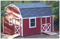 Backyard Workshop or Studio Mini-Barn