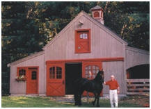 Customized Chestnut Hill Horse Barn - Built in Massachusetts