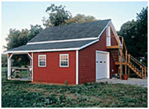Custom Chestnut Barn Featured in Mother Earth News Magazine