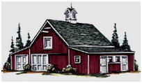 Two or Four Horse Stall Pole-Barn and Garage Plans