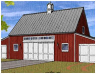 Pole Barn Blueprints