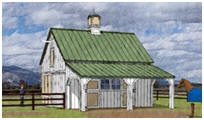 Horse Barn Plans with Grooming Area