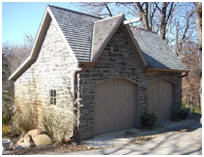 Stone Coach-House Pole Barn