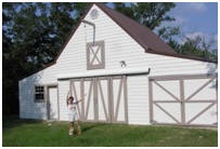 Custom Maple Pole-Barn Plans