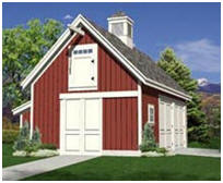 Small Pole Barn, Garage and Shop Plans