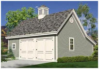 Two Car Pole Garage and Workshop Plans