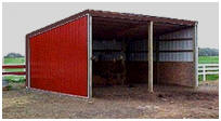 Horse Loafing Shed Plans