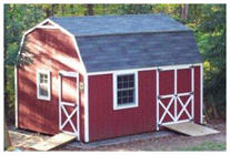 Backyard Mini-Barn Plans