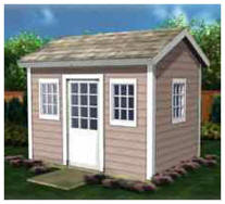 This Playhouse can be used as a garden shed, potting shed or backyard studio after the kids grow. Get instant download plans.