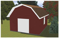 Barn Style Storage Shed Plans