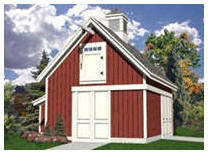 Small Pole-Barn Building Plans