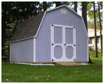Do It Yourself Storage Barn Building Plans by Backyard3.com