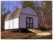 Bonanza Backyard Barn Plans by Backyard3.com