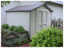 Do it Yourself Tool Shed Building Plans from Backyard3.com