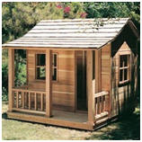 DIY Playhouse Cabin - Get inexpensive plans and step-by-step instructions at Rockler.com