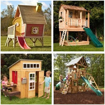 Play Houses and Playgrounds at Wayfair.com