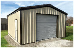 Do-It-Yourself Garage and Carport Building Kits