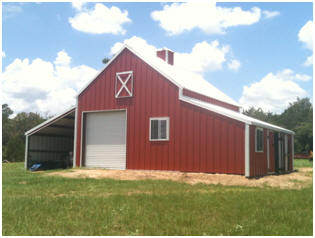 The Applewood Pole Barn - Check out inexpensive stock plans by architect Don Berg.