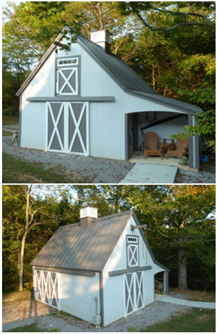 Architect Don Berg's Candlewood Mini-Barn has been built in all parts of the US and Canada. Click to see how builders have customized the stock plans.