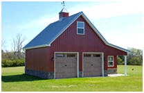 Custom Car Barn and Country Garage Plans