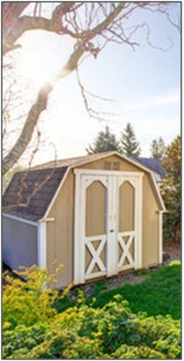 Find plans for Easy-to-Build Storagge Sheds in All Sizes