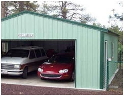 Find Steel Garage Building Kits at AbsoluteRV.com
