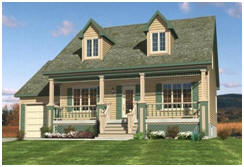 HousePlans.net has hundreds of plans for all styles of small cottages.