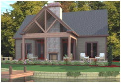 Small House Plans at HousePlans.net - Choose from more than 100 stock plans for little homes, cottages or cabins, or have a custom design made just for you.