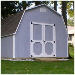 Do It Yourself Barn-Style Storage Shed Building Plans